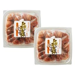 国産蓮華蜂蜜使用 紀州南高梅 (500g×2パック) 商品パッケージ