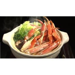 ワケありズワイガニの脚 3Lサイズ (3kg) [調理例]カニ鍋