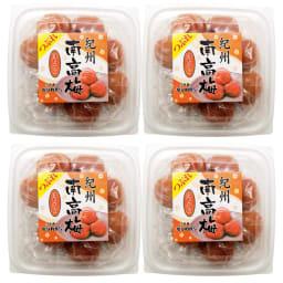 紀州南高梅つぶれ不揃い (250g×4パック) 商品パッケージ