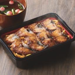 うなぎの江口商店 柳川うなぎ飯 (250g×2箱) 【盛り付け例】袋のまま電子レンジで温められる手軽で簡単なうなぎ飯をどうぞ。