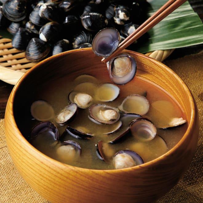 島根県宍道湖産 大和しじみ (200g×6袋) 【調理例】旨みが詰まった良質な大和しじみです。お味噌汁や酒蒸しなど色々なお料理にご利用いただけます。