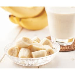 国産 冷凍カットバナナ (500g×1袋) 【盛り付け例】