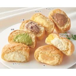 「八天堂」 夏プレミアムフローズンくりーむパン (7種 計12個) 【通常お届け】 ※桃、はちみつレモンヨーグルトは夏のみです。
