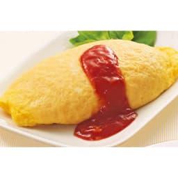 「三代目たいめいけん」 オムライス 計10食 【盛り付け例】しっとりふんわりの卵に包まれたオムライスです。 ※ケチャップは付きません。