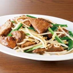 佐助豚のレバニラの素 (230g×6袋) 【調理例】レバーを解凍し、お野菜と炒めるだけで本格ニラレバをどうぞ。