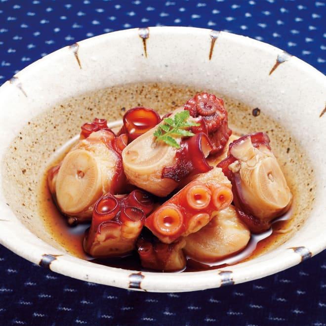 北海道産 たこのやわらか煮 (100g×5袋) ただやわらかいだけでなく、たこの美味しさともいえる歯ごたえを残した食感は、お子様から年輩の方にまで広く楽しんでいただけます。