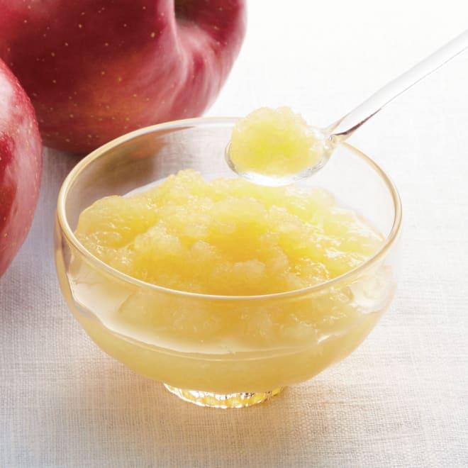 国産すりおろしりんご 3種セット (3種 計18個) おろしたてのような風味でそのまま食べても、料理の隠し味にしても便利です。