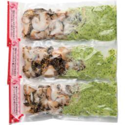 北海道えりも産 つぶ貝のガーリックバター焼き (125g×3袋)
