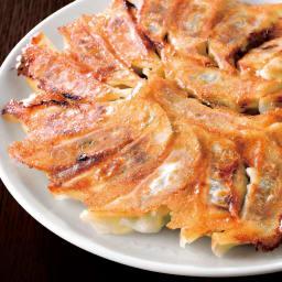 業務用 青森にんにく餃子 (約100個) 【調理例】 たっぷり食べられる約100個入り!肉汁があふれ出す本格餃子。