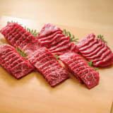 ブランド和牛6種 食べ比べ焼肉セット (6種計600g) 写真