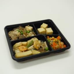 健康バランス7食セット 海鮮塩炒め 【副菜】豚肉の炒め煮/厚揚げの煮物/柚子風味サラダ