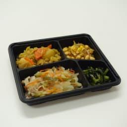 健康バランス7食セット 豚しゃぶ 【副菜】大根そぼろあんかけ/タマゴサラダ/小松菜の磯辺和え