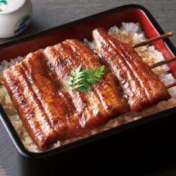 浜名湖 うなぎ蒲焼(串刺) 【盛り付け例】1袋分を盛り付けています。 さっぱりだれでふっくら!浜名湖のうなぎ串焼き