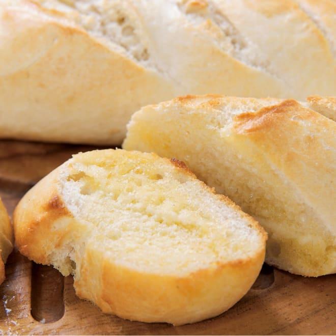 「デルソーレ」 バゲット バター入りハーフバゲット×6袋 バター入りハーフバゲット 盛り付け例