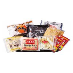 8種の名店お惣菜福袋 お届けパッケージ