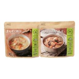 イザメシ まんぞく豚汁&ほっこりけんちん汁 (2種計12袋)