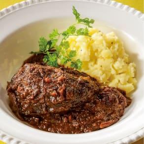 「マルディ グラ」和知シェフ監修 じっくり煮込んだ牛頬肉の赤ワイン煮込み 【通常お届け】 写真
