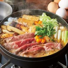 岩手短角和牛と岩手産松茸のすき焼きの具(2~3人前)