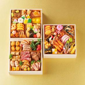 湯島たけうち監修 旬菜と肉料理のおせち (約3人前) 写真
