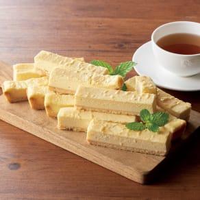 不揃いベイクドチーズケーキバー (500g×2箱) 写真