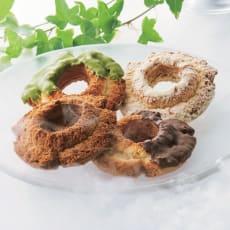 「ウフフドーナチュ」 フローズンドーナツ (4種計22個)