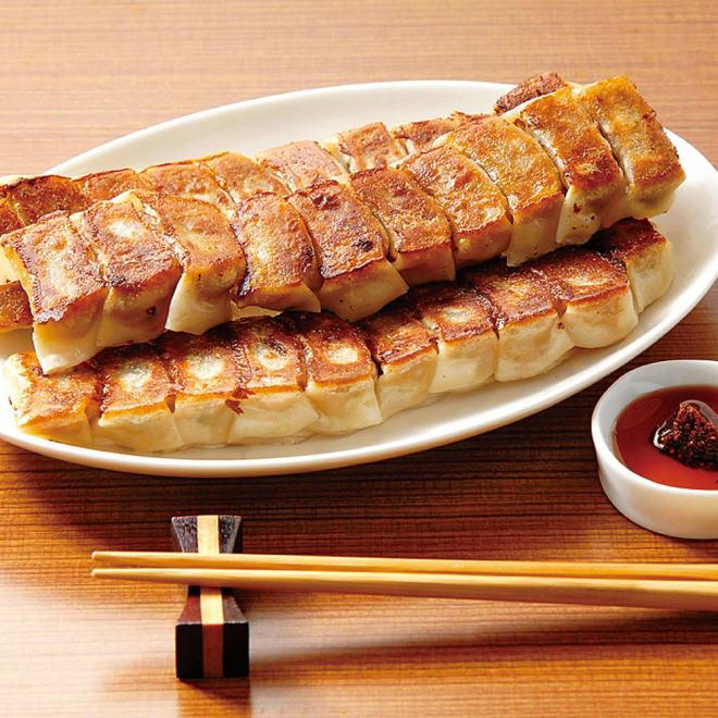 博多「うま馬」 ひとくち餃子 (30個×4パック) 【調理例】皮は小ぶりで薄く、具は地元九州の素材を中心に使用している大人気餃子です!
