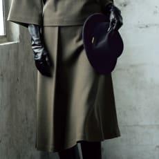ウールスムースジャージー スカート