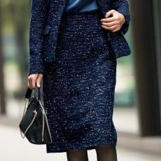 マリア・ケント社 ラメツイード スカート