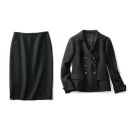「NIKKE」 ウールダブルクレープ スーツセット(ジャケット+スカート) ジャケット+スカート