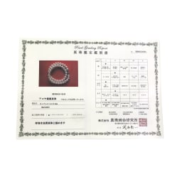 「厚巻良質」 レングスが選べる 8.5mmアコヤパール ネックレス 簡易鑑別書付き
