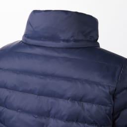 撥水加工素材 ダウン×中わた デザイン ジャケット フードは取り外し可