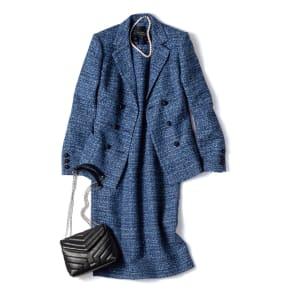 マリア・ケント社 ツイード スーツセット(ジャケット+ワンピース) 写真