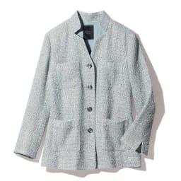 フェルラ社 リネン混 からみ織り ジャケット