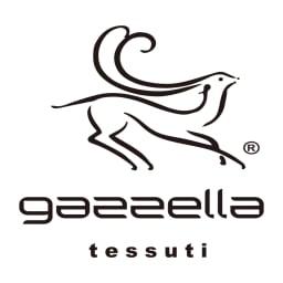 GAZZELA/ガゼラ グリッター使い シルク混オパール プリント ワンピース