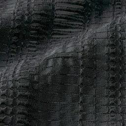 イタリア素材 シャドーチェック ジャカード ワンピース 生地アップ
