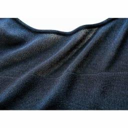編み地切り替え ニット セットアップ(プルオーバー+スカート) プルオーバー 生地アップ