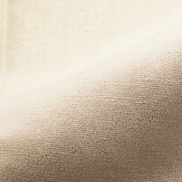 箔プリント リネン混 セミワイドパンツ (イ)オフホワイト×シルバー箔 生地アップ
