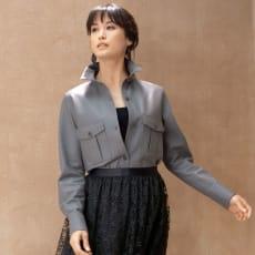 スペイン産 ラムレザー シャツジャケット