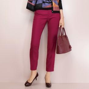 【股下丈65cm】 トルコ素材 ドビー織り カラーパンツ 写真