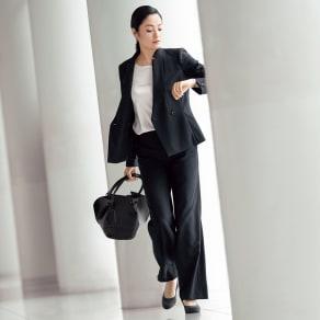 【股下丈70cm】 「NIKKE」 ウールサージ スーツセット(ジャケット+パンツ) 写真