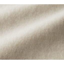 イタリア素材 カシミヤ混 リバーシブル コート ライトグレー面 生地アップ