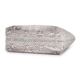 ダイヤモンドパイソン トートバッグ(ポーチ付き) BOTTOM