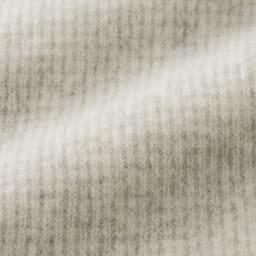 ワッフル編み ホールガーメント フーデッド プルオーバー 生地アップ