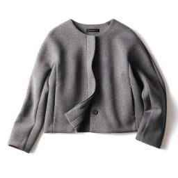 接結ジャージー セットアップ(ジャケット+スカート) ジャケット