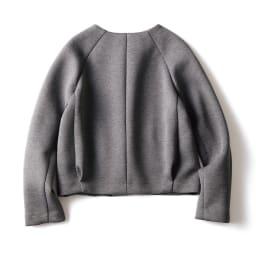 接結ジャージー セットアップ(ジャケット+スカート) ジャケット BACK