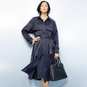 アンチポラン(R)素材 撥水 ドレスコート 写真