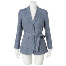 フェルラ社 シルクリネン からみ織 ジャケット ※インナーは含まれません