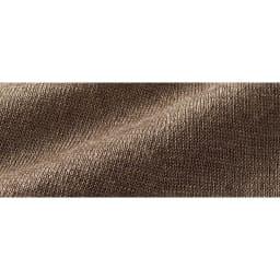 コットンシルクサテン&イタリア糸シルクリネンニット アンサンブル(カーディガン+プルオーバー) カーディガン 生地アップ