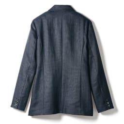 リッチェリ社 リネン混 スーツセット(ジャケット+パンツ) ジャケット BACK