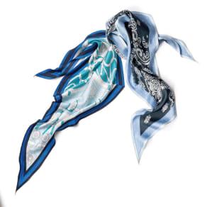 シルクツイルダイヤ型 スカーフ 写真